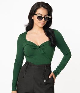 Maxine Top, Emerald Green