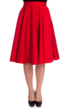 Paula Skirt, Red