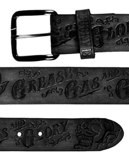 The Grease Gas and Glory Belt, Black