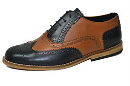 Gatsby Brogue, Brown/Black