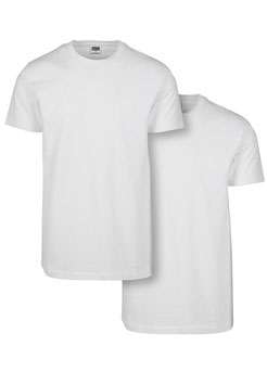 Basic Tee 2er-Pack, White
