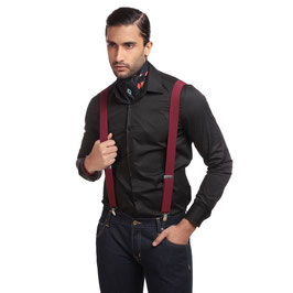 Hunter Plain Shirt, Black