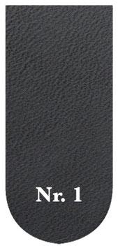 Ledergürtel schwarz, mit Druckknöpfen