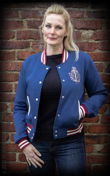 Anchor Aweigh! Ladies College Jacket