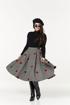 Sophie Skirt Houndstooth, Plussize