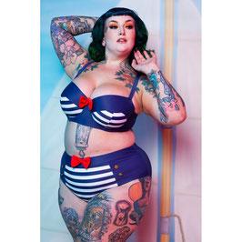 Nautical Bikini Top