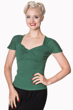 She Who Dares Top, Forest Green