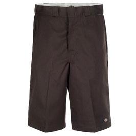 "13"" Multi Pocket Work Short Dark Brown"
