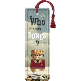 Who Needs Bones? Bookmark