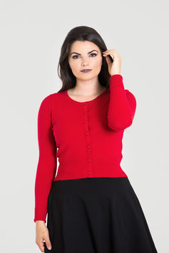 Paloma Cardigan Red