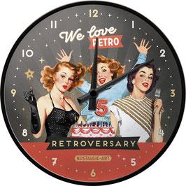 We Love Retro - Wall Clock