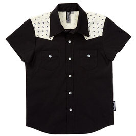 Black Skull Rockabilly Shirt