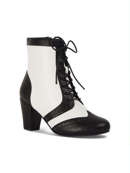 Adele Boots, Black & White