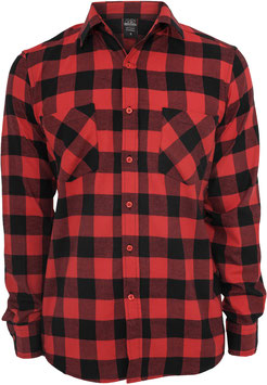 Checked Flanell Shirt Red, Men