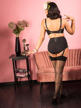 Seamed Stockings Black Glamour
