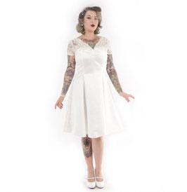 Antoinette Dress, Ivory
