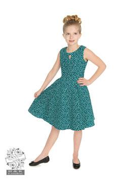 Girls La Rosa Dotty Swing Dress
