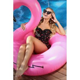Cherry Love Skirted Swimsuit