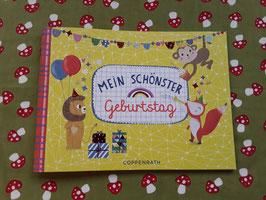"""Erinnerungs-Einschreibbüchlein """"Mein schönster Geburtstag"""""""