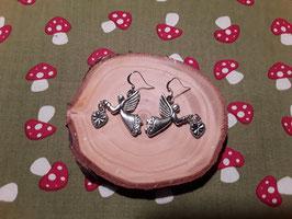 weihnachtlicher Ohrschmuck handmade