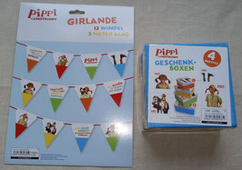Pippi Langstrumpf Set 4