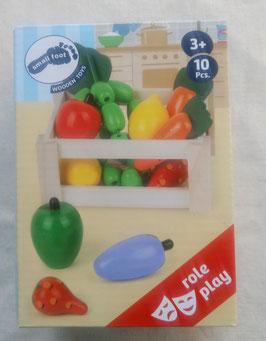 Kiste Obst und Gemüse