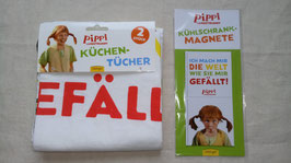 Pippi Langstrumpf Set 1