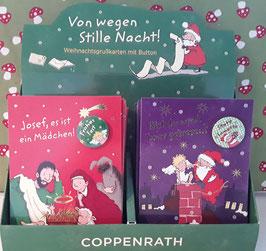 Weihnachtskarten Set mit Buttons