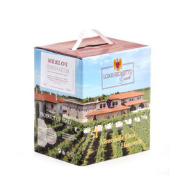 Merlot Bag in Box 5 l - Lorenzonetto Latisana/Friaul