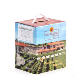 Chardonnay Bag in Box 5 l - Lorenzonetto Latisana/Friaul