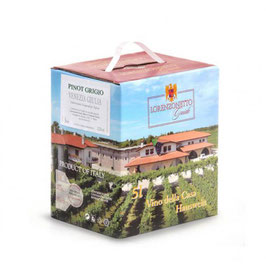 Pinot Grigio Bag in Box 5 l - Lorenzonetto Latisana/Friaul
