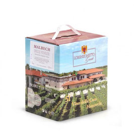 Malbech Bag in Box 5 l - Lorenzonetto Latisana/Friaul