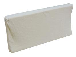 Colchón Para Cambiador Hule Espuma 7 cm Velour Con Cierre