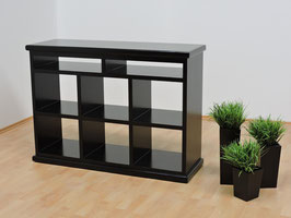 Mueble para TV Modelo Cubos Negro (#038)