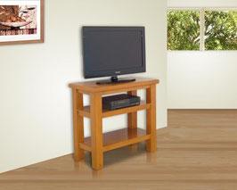 Mesa para TV Tradicional 80 cm Con Entrepaños Durazno (#036)