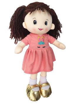 Muñeca de Trapo y Tela Laura Durazno