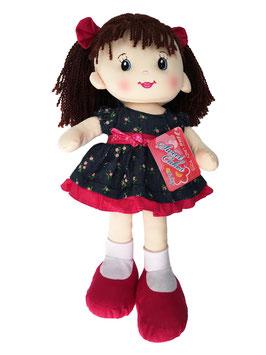 Muñeca de Trapo y Tela Libby Cereza