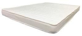 Colchón Para Corral Hule Espuma 7 cm Franjas Blancas 95 x 140 x 7 cm (#0454)