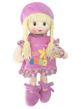 Muñeca de Trapo y Tela Niobe Morado