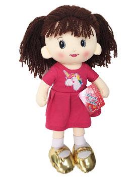 Muñeca de Trapo y Tela Laura Cereza