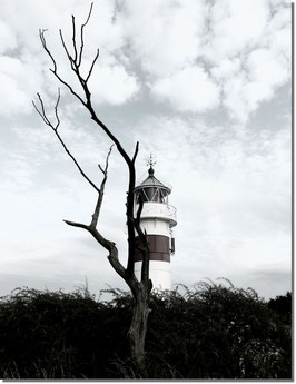 Arö Lighthouse auf Leinwand 40 x 60 cm