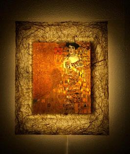 クリムト「アデーレ・ブロッホバウアーの肖像」と和紙ックセット