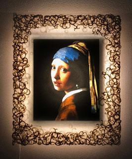 特注和紙 フェルメール「真珠の耳飾りの少女」と和紙ックセット
