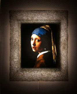 フェルメール「真珠の耳飾りの少女」と和紙ックセット