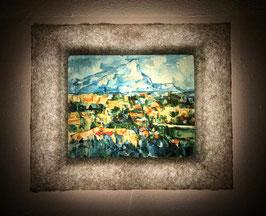 セザンヌ「サント=ヴィクトワール山」と和紙ックセット