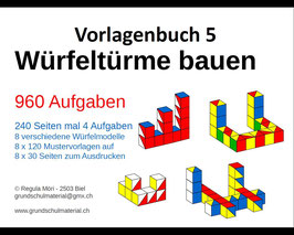 PDF-Vorlagenbuch 5 - Würfeltürme bauen
