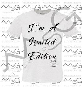 "T-Shirt ""Limited Edition"" uomo"