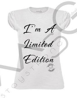 "Tshirt ""Limited Edition"" - Woman"
