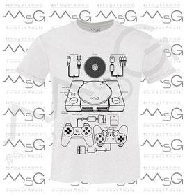 """T-shirt """"Play"""" - Man"""