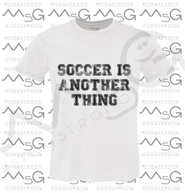 "T-shirt ""Soccer is"" Uomo"